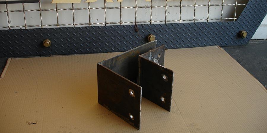 Heavy duty custom made angles